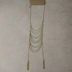 NWT American Eagle (AEO) draped tassel necklace